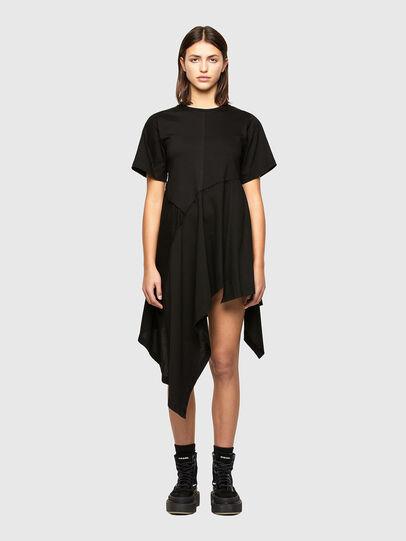 Diesel - D-STORM-A1, Black - Dresses - Image 1