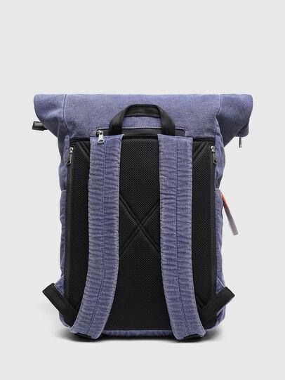 Diesel - FOLD, Blue - Backpacks - Image 2