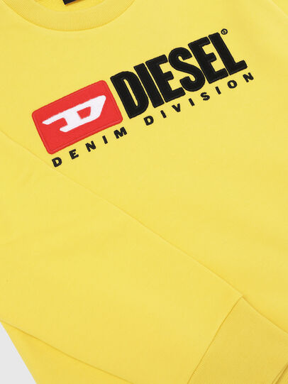 Diesel - SCREWDIVISION OVER, Yellow - Sweaters - Image 3