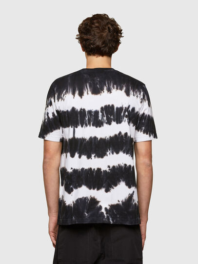 Diesel - T-JUST-A38, Black/White - T-Shirts - Image 2