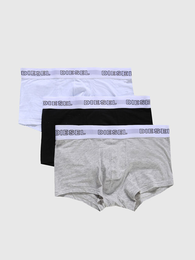 Diesel UMBX-KORYTHREEPACK, Grey/White - Trunks - Image 1