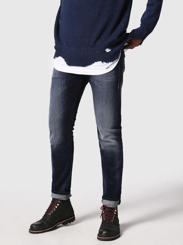 Diesel Thommer 0860L, Dark Blue - Jeans - Image 1