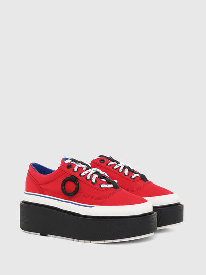 Diesel - H-SCIROCCO LOW, Fire Red - Sneakers - Image 2
