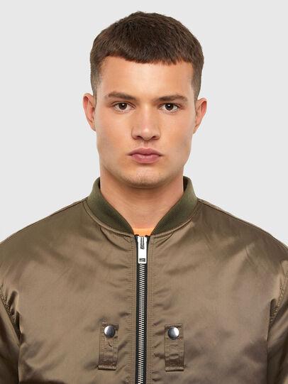 Diesel - J-JAVIER, Military Green - Jackets - Image 3