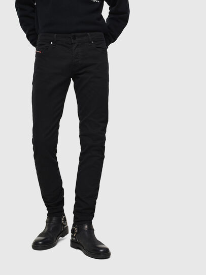 Diesel - Sleenker 069EI, Black/Dark grey - Jeans - Image 1