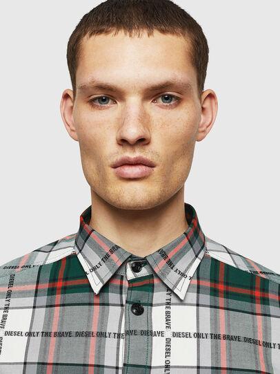 Diesel - S-MILLER-A, Dark Green - Shirts - Image 4