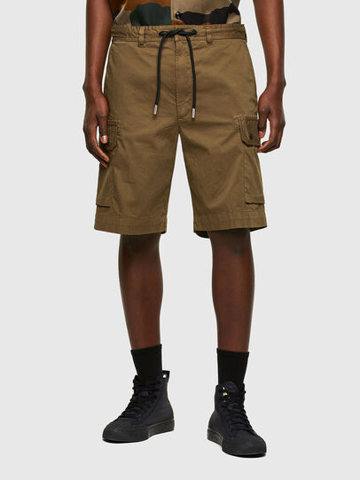 Diesel - P-APE, Military Green - Shorts - Image 1
