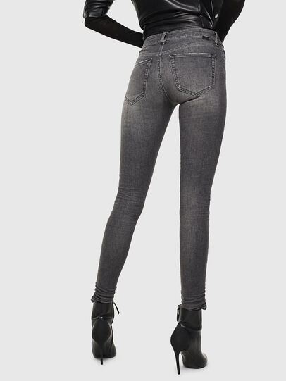 Diesel - Slandy 083AJ, Black/Dark grey - Jeans - Image 2
