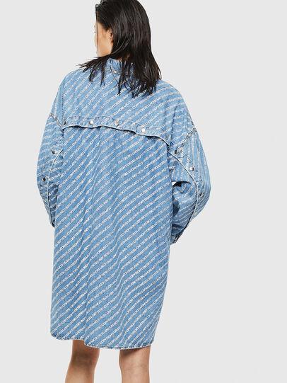 Diesel - DE-SLYX, Light Blue - Dresses - Image 2