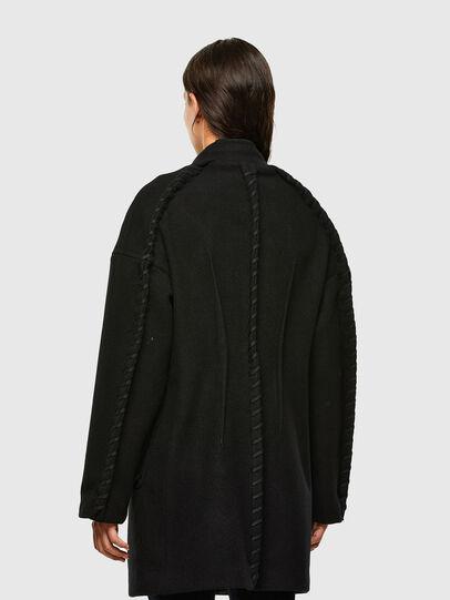 Diesel - W-LETHEA, Black - Winter Jackets - Image 2