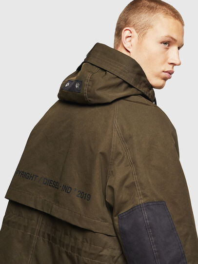 Diesel - W-KOBEC, Military Green - Winter Jackets - Image 5