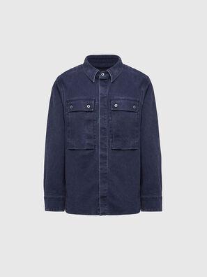 D-VERSO, Dark Blue - Denim Shirts