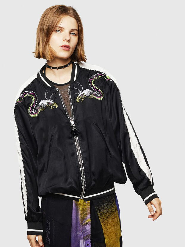 G-IOIO-A, Black - Jackets