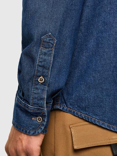 Diesel - D-BILLY, Dark Blue - Denim Shirts - Image 4