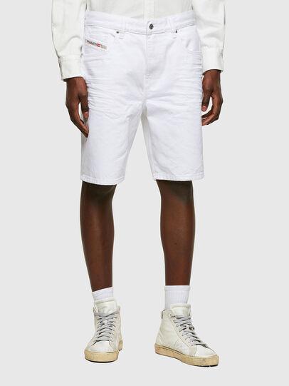 Diesel - D-STRUKT-SHORT, White - Shorts - Image 1