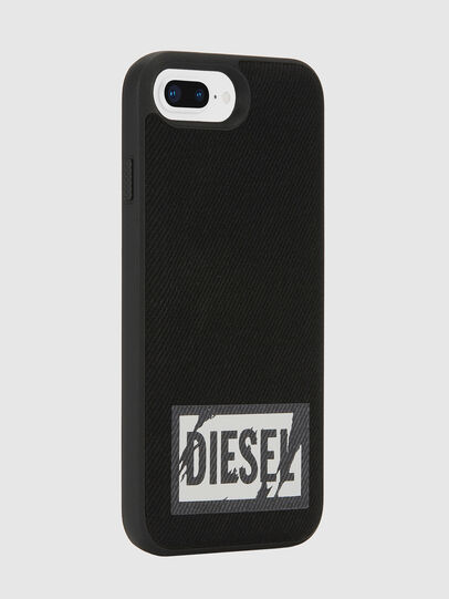 Diesel - BLACK DENIM IPHONE 8 PLUS/7 PLUS/6S PLUS/6 PLUS CASE, Black - Cases - Image 5