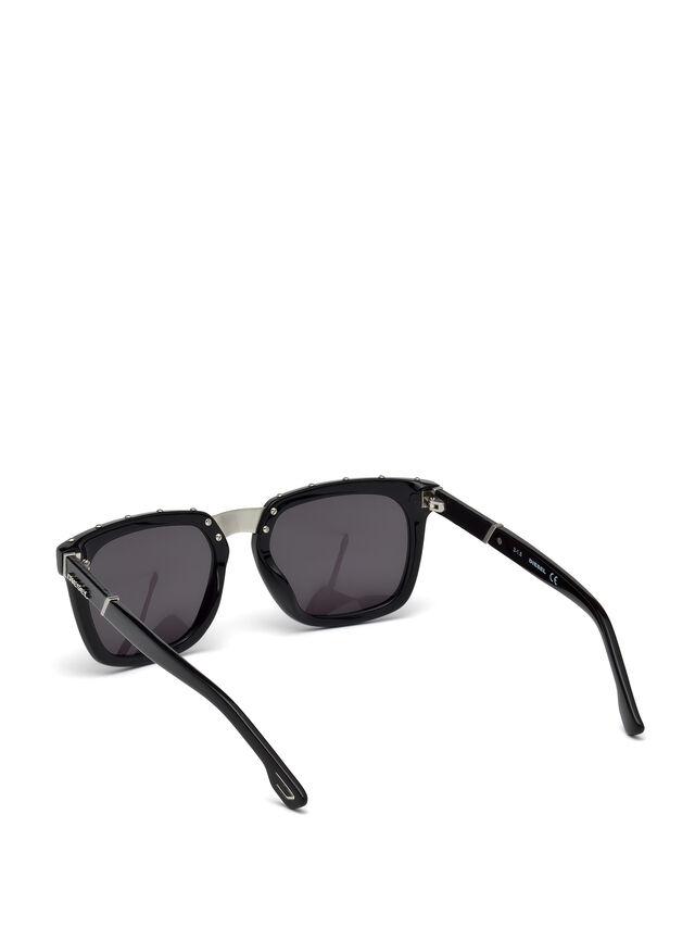 Diesel - DL0212, Black - Eyewear - Image 2