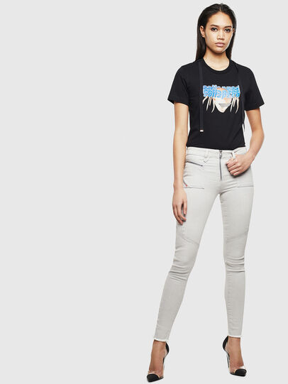 Diesel - Slandy 0097F, Light Grey - Jeans - Image 6