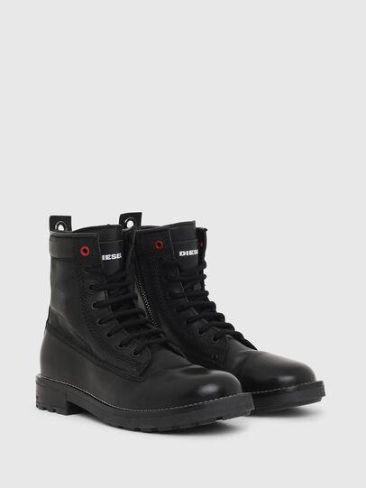 Diesel - D-THROUPER DBB W Z, Black - Ankle Boots - Image 2