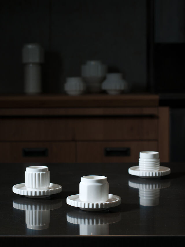 Living 10975 MACHINE COLLEC, White - Cups - Image 3