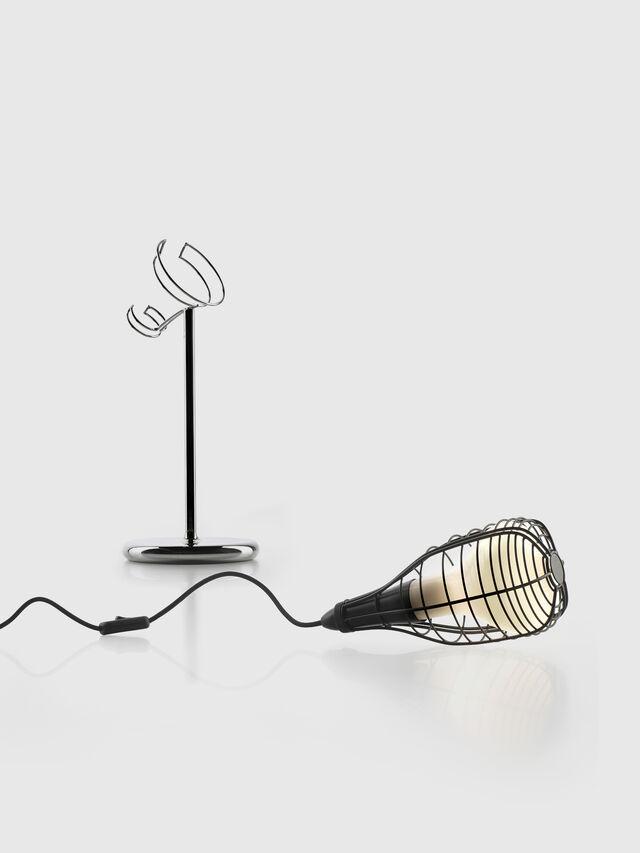 Diesel - CAGE MIC NERO, Black - Table Lighting - Image 2