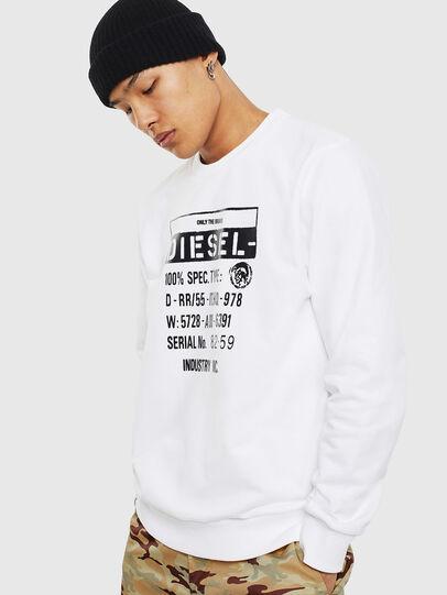 Diesel - S-GIRK-S3, White - Sweaters - Image 1