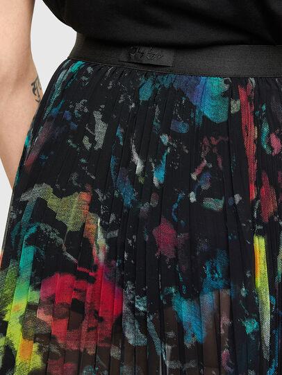 Diesel - O-SHEER, Black - Skirts - Image 3