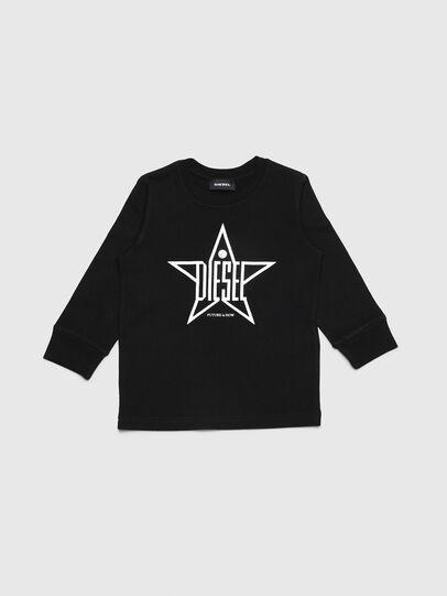 Diesel - TDIEGOYHB-ML-R, Black - T-shirts and Tops - Image 1