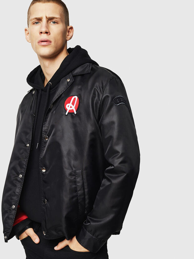LR-JPLAZA-VIC-2, Black - Jackets