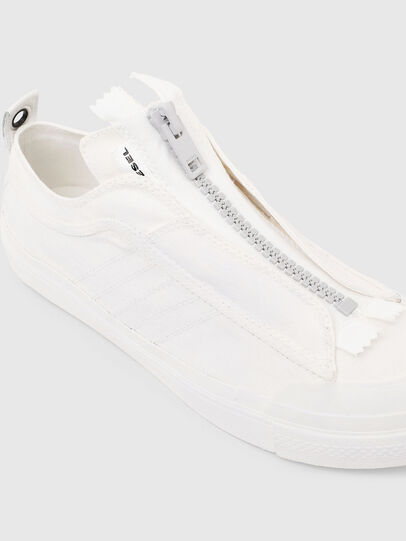 Diesel - S-ASTICO LOW ZIP SP, White - Sneakers - Image 5