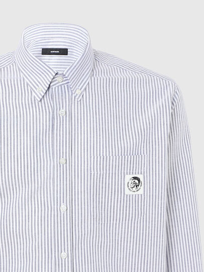 Diesel - S-JAMES-A, Blue/White - Shirts - Image 3