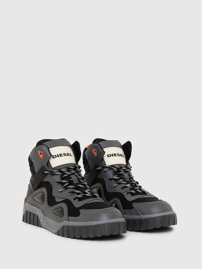 Diesel - S-RUA SP, Dark grey - Sneakers - Image 2