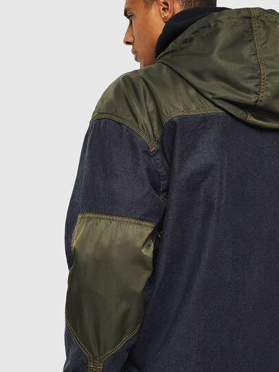 Diesel - D-SIMILAR JOGGJEANS, Dark Blue - Denim Jackets - Image 6