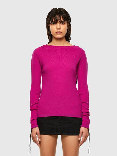 Diesel - M-JULIA, Hot pink - Knitwear - Image 1