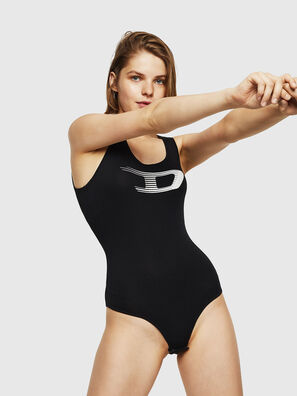 UFTK-BODY, Black - Bodysuits