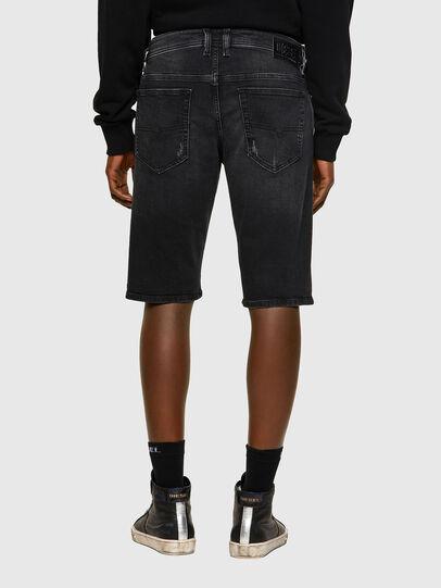 Diesel - THOSHORT, Black/Dark grey - Shorts - Image 2