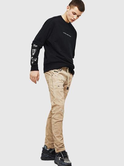 Diesel - Krooley JoggJeans 069GT, Beige - Jeans - Image 5