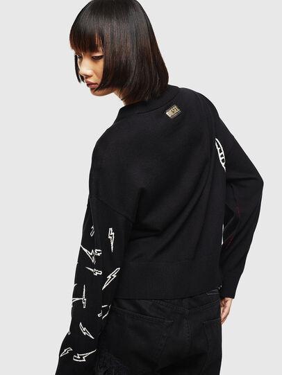 Diesel - CL-M-TESS, Black - Knitwear - Image 2