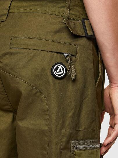 Diesel - P-CYAN-SHORT, Military Green - Shorts - Image 3