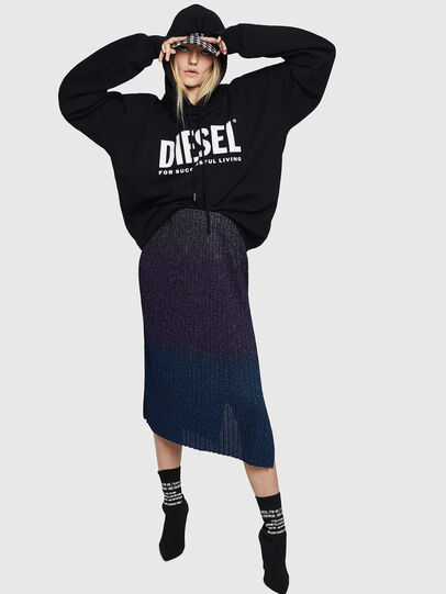 Diesel - M-ELY, Dark Blue - Skirts - Image 6