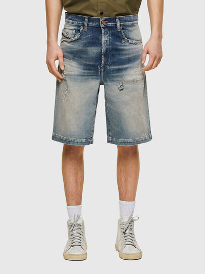 Diesel - D-MACS-SHORT, Light Blue - Shorts - Image 1