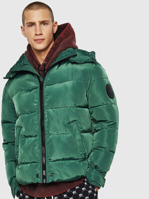 W-SMITH-YA-WH, Dark Green - Winter Jackets