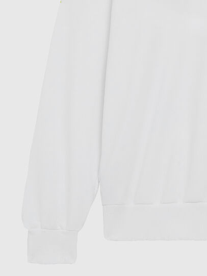 Diesel - S-GIR-DIVISION-LOGO, White - Sweaters - Image 5