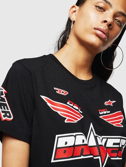 Diesel - ASTARS-T-DIEGO-FL, Black - T-Shirts - Image 3