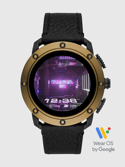 Diesel - DT2016, Black/Gold - Smartwatches - Image 1
