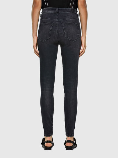 Diesel - Slandy High 069RL, Black/Dark grey - Jeans - Image 2