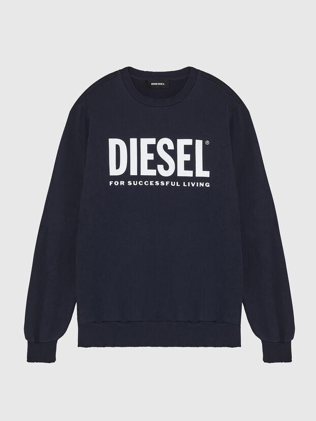 S-GIR-DIVISION-LOGO, Dark Blue - Sweaters