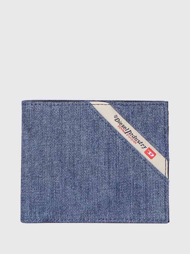 Diesel HIRESH S, Blue Jeans - Small Wallets - Image 1