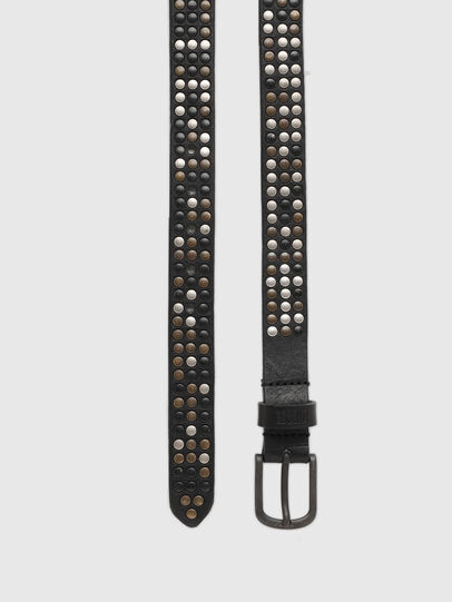 Diesel - B-FRAM, Black - Belts - Image 3