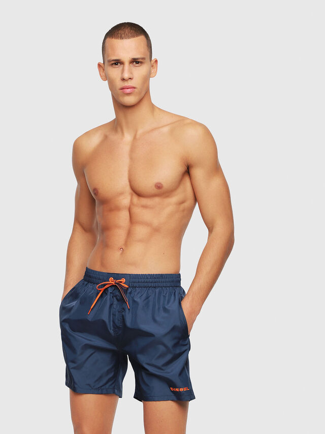 Diesel - BMBX-WAVE 2.017, Navy Blue - Swim shorts - Image 1
